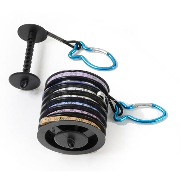 Tippet spool holder with carabineer xplorer fly fishing for Tippet fly fishing